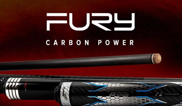 Oberteil, Pool, Fury, The ONE Carbon, 12,5mm, Uni-Lock