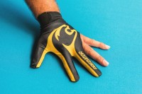 Glove Predator LE, 3-finger, black-yellow