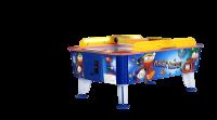 Airhockey, Magic Outdoor, 163x107 cm, blau/gelb/weiß, kommerziell
