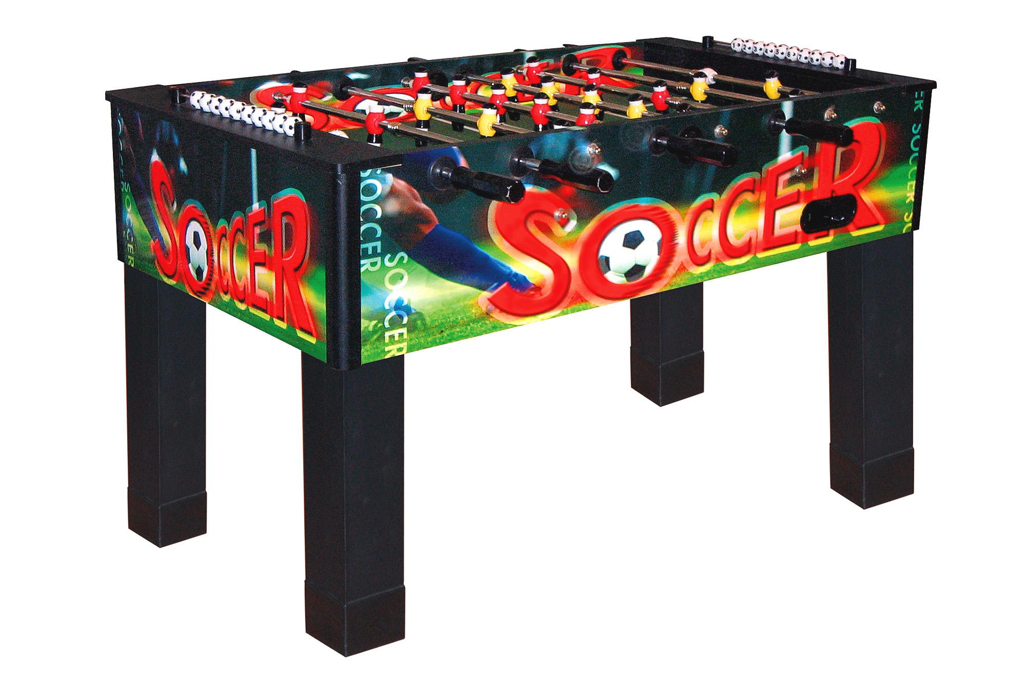 soccer table dybior magic multicolor soccer foosball tables rh dynamic billard de