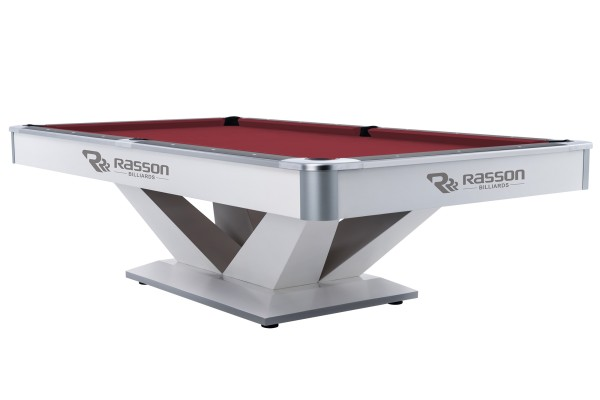Billardtisch, Pool, Rasson Victory II Plus, weiß