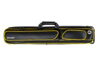"Billiard Cue Soft Case ""Bear"", black-yellow, 3/5, 85 cm"