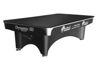 Table cover for Dynamic III, 9 ft., r104, black
