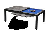 Billardtisch, Pool, Vancouver II, 7 ft. (Fuß), schwarz/grau