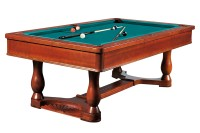 Billiard Table Dynamic Renaissance, 8 ft, antique brown, Pool