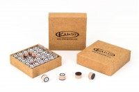 "Tip ""Kamui Clear Original"", brown, 14mm, soft (S)"