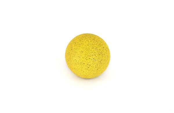 Ball für Tischfußball, Kork, gelb, Set, 10 Stück