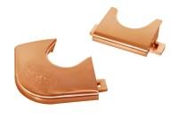 Rahmenecken, Pool, für Dynamic III, bronze, 4+2
