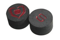Klebeleder, Black Heart Stroke, 14 mm, soft (S)