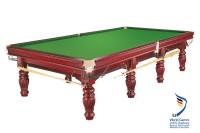 """Billard Tisch """"Prince"""", 12 Fuß, mahagoni, Snooker"""