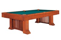 Billiard Table Dynamic Romance, 8 ft, antique brown, Pool