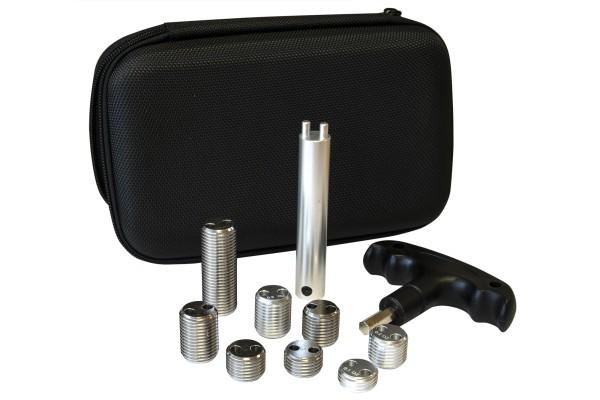 Gewichtsset inkl. Schlüssel und Tasche, passend für Predator Queues
