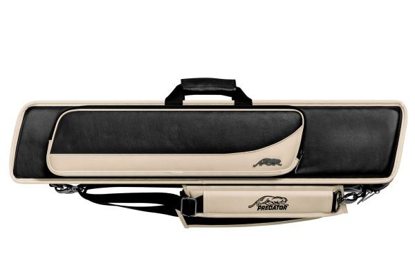 Queuetasche, Predator Roadline, schwarz-beige, 4x8, 85 cm
