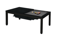 Billiard Table, Pool, Vancouver II, 7 ft., black/black
