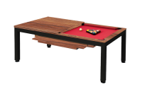 Billiard Table, Pool, Vancouver II, 7 ft., black/brown