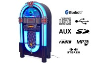 Jukebox Tennessee Deluxe, mit MP3, Radio, USB/SD, CD, Bluetooth, AUX