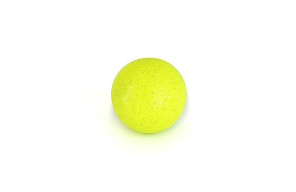 Ball für Tischfußball, Kork, neon-gelb, Set, 10 Stück