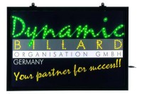 LED-Schild, Dynamic Billard