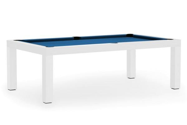 Billardtisch, Pool, Mozart, 7 ft. (Fuß), matt-weiß