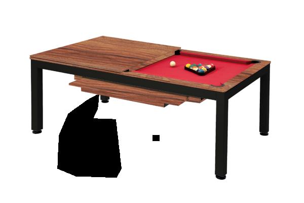Billardtisch, Pool, Vancouver II, 7 ft. (Fuß), schwarz/braun