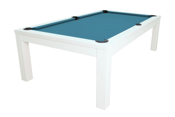 Billiard Table, Pool, Rasson Penelope II, Shining White incl. table cover