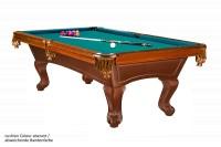 Billardtisch, Pool, Californian, 8 ft. (Fuß), antikbraun, SONDERARTIKEL