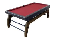 Billardtisch, Pool, Montego, 7 ft. (Fuß), schwarz-silber
