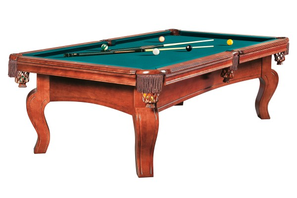 Billiard Table Dynamic Dynasty, 8 ft, antique brown, Pool