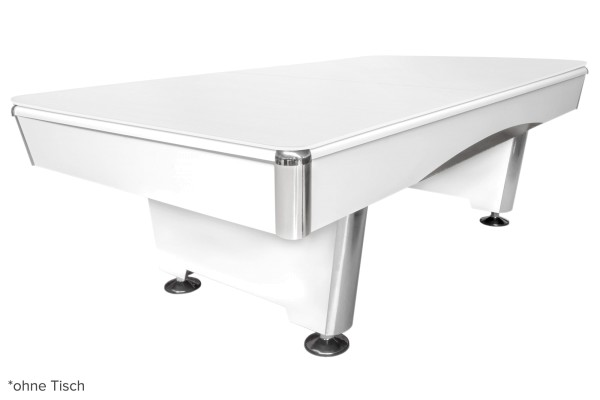 Table cover for Eliminator and Triumph, 8 ft., r50, matt-white