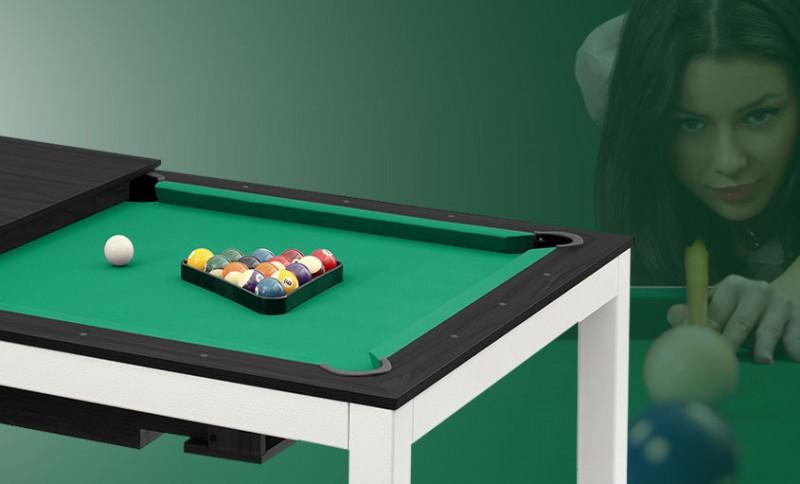 Billardtisch, Pool, Vancouver, Varianten, Sitzbänke