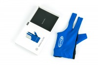 "Glove ""Kamui"", blue, M"