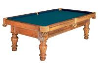 Billardtisch, Pool, Royal, 8 ft. (Fuß), dunkle eiche