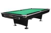 Billiard Table, Pool, Galaxy, 9 ft., Black