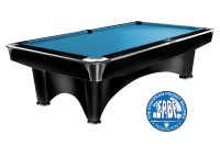 Billiard Table Dynamic III, shining black, Pool