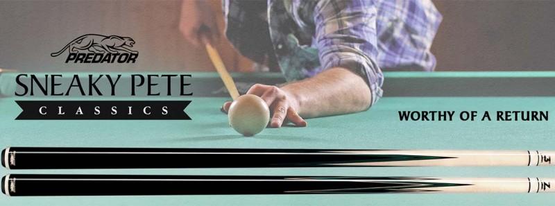 Billardqueue, Pool, Predator Sneaky Pete Classics, Radial