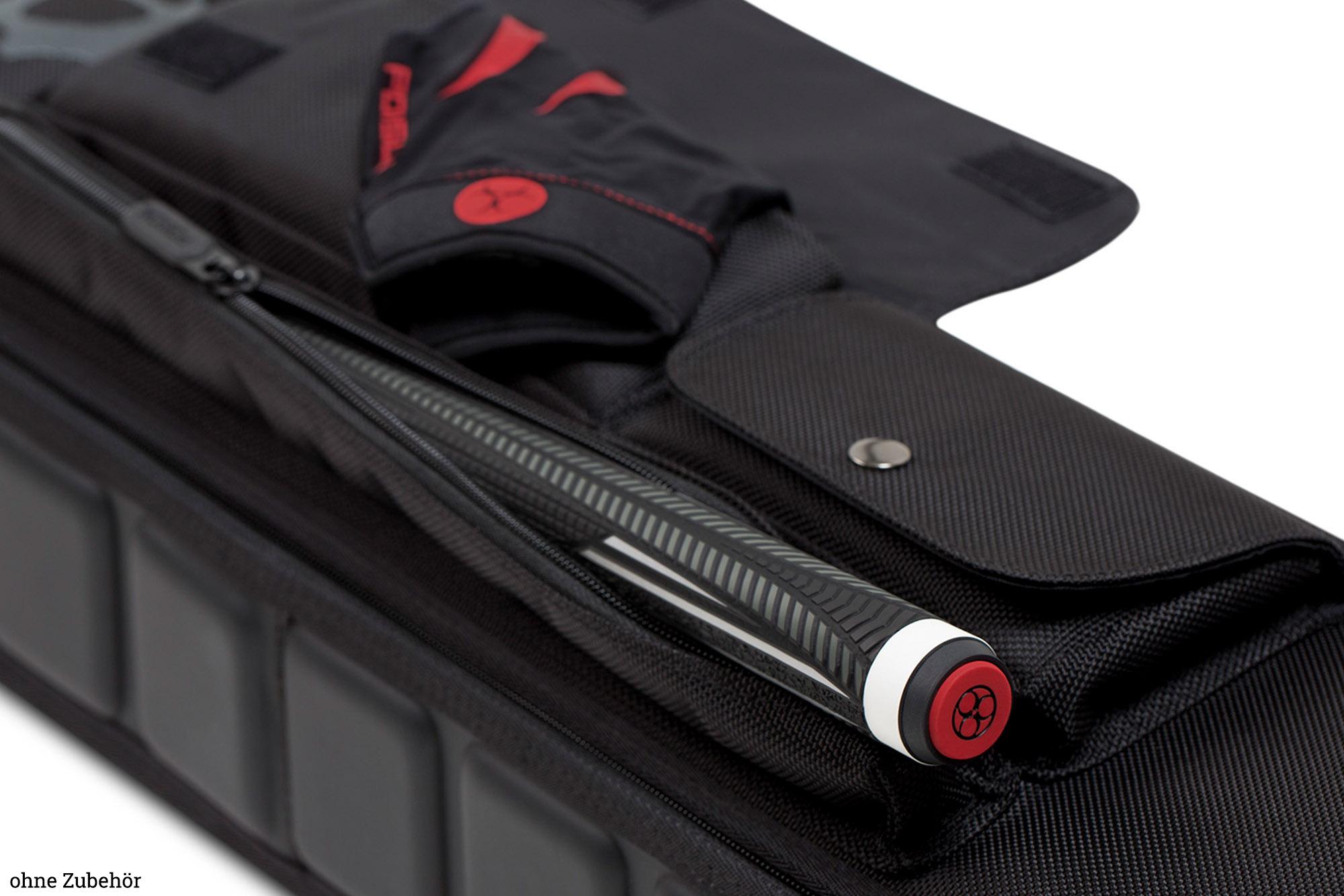 Billard 3//4er Queue Tasche Koffer Köcher Poison PO-2 ARMOR 3x4 Pool Sporttasche