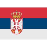 Flagge Serbien