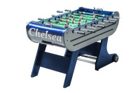 Soccer Dybior Chelsea, silver/blue,folding