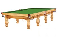 Billardtisch, Snooker, Dynamic Prince, 12 ft. (Fuß), eiche