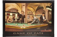 LED-Poster, Game of Fate, 60x80 cm