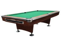 Billiard Table, Pool, Galaxy, 9 ft., Brown