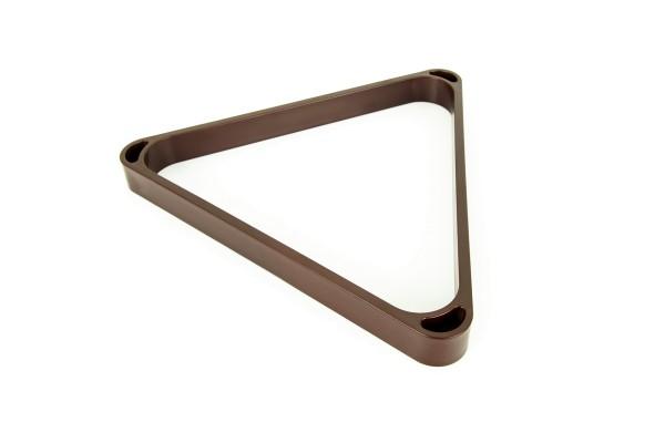 Dreieck, Pool, Dynamic, mahagoni, 57,2 mm