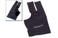 Halbfingerhandschuh, Deluxe 2, 3-Finger, schwarz,