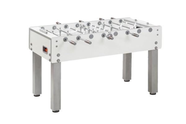 Tischfußball, Garlando G-500 Classico, Teleskopstangen, weiß