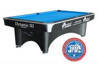 Billardtisch, Pool, Dynamic III, 9 ft. (Fuß), schwarz, gebraucht