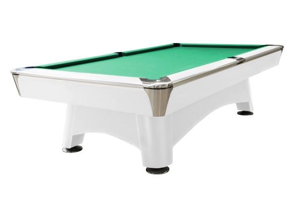 Billardtisch, Pool, Hurricane, 9 ft. (Fuß), weiß