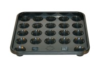 Ball Tray, black, Snooker