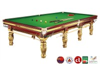 Billardtisch, Snooker, Dynamic Prince, inkl. Steel Block, 12 ft. (Fuß), gold