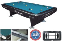 Billiard Table Dynamic II, 9 ft, shinning black, Pool