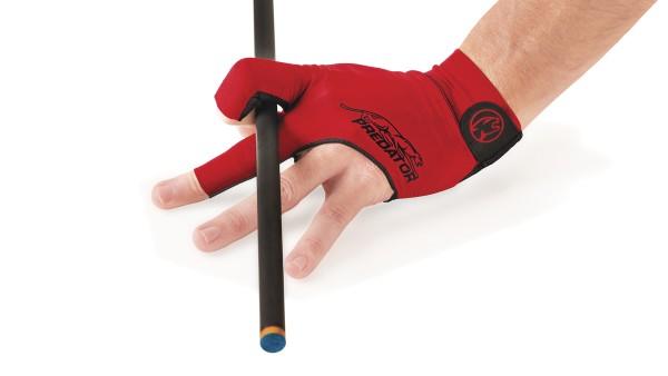 Handschuh, Predator Second Skin, 3-Finger, rot